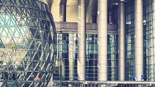 上海科技馆一角图片