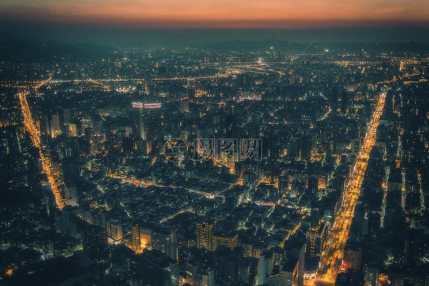 台湾街景图片