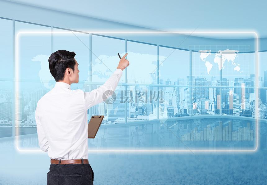 商务数据分析科技图片