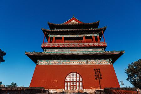 中国古建筑北京鼓楼图片