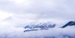 雪山山峰图片