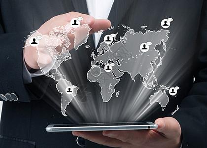 平板通讯科技世界图片