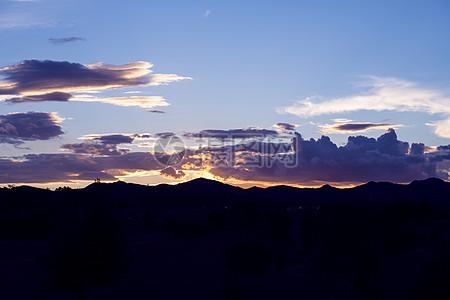 云系列之坝上草原风光图片