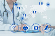 互联网科技医疗图片