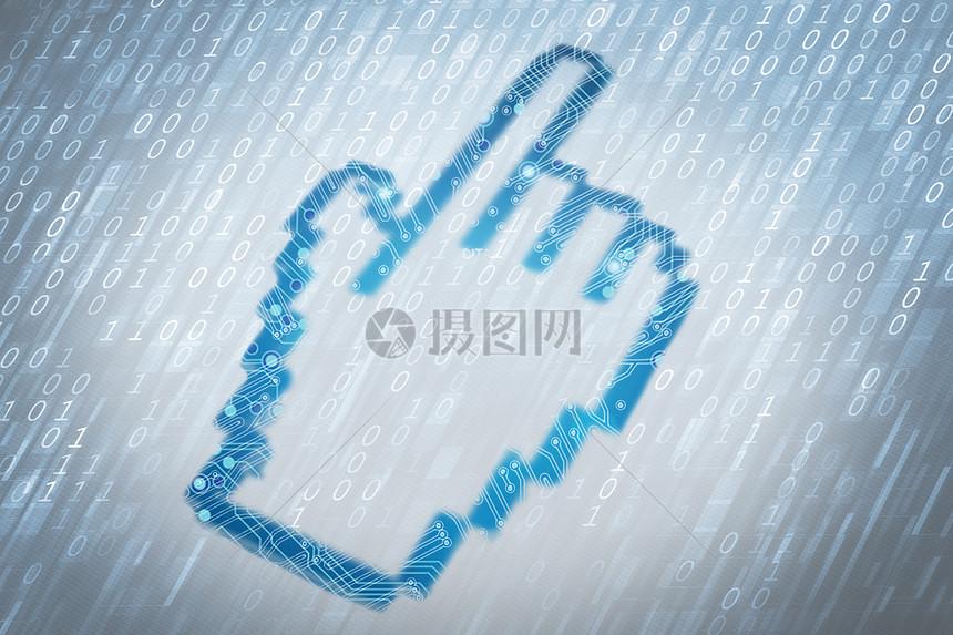 立体质感光标科技图片图片