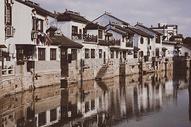 中国元素江南水乡古镇图片