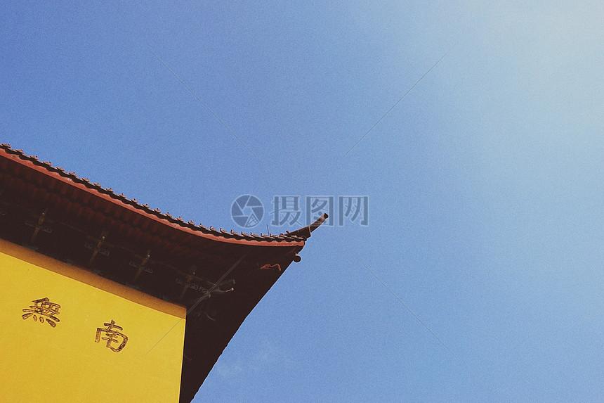 中国元素庙宇建筑图片