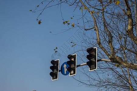 交通信号灯图片