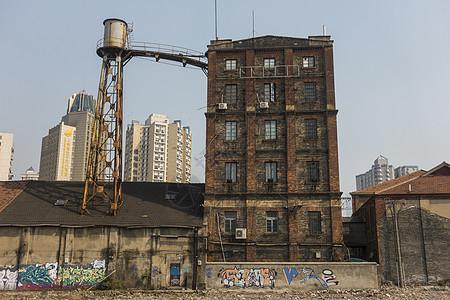 上海面粉厂建筑大楼图片
