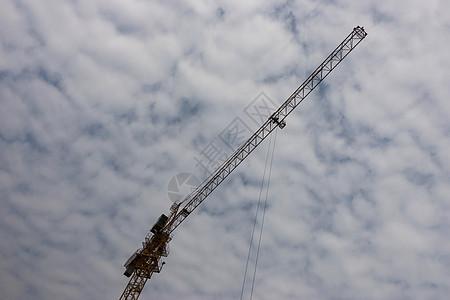 工业发展的大吊车图片