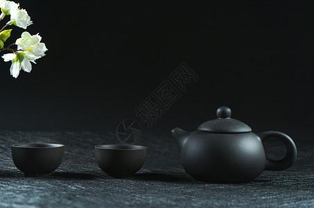 茶壶 茶碗 茶道图片