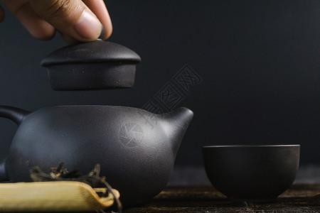 手提茶壶盖图片