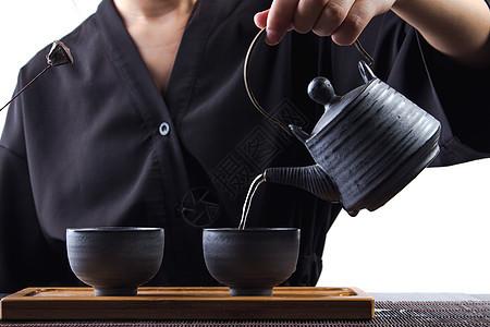功夫茶 倒茶图片