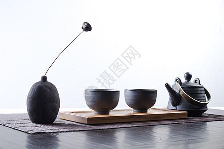 中式茶壶图片