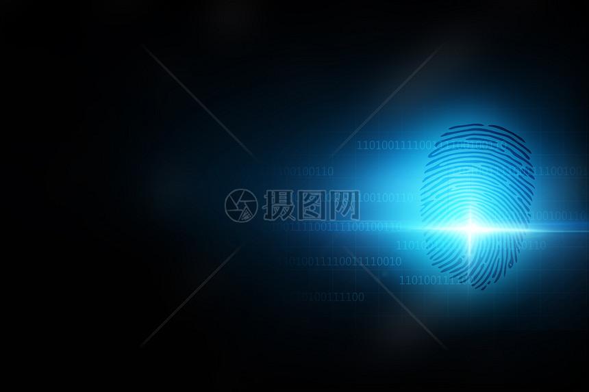 指纹与隐私系统图片