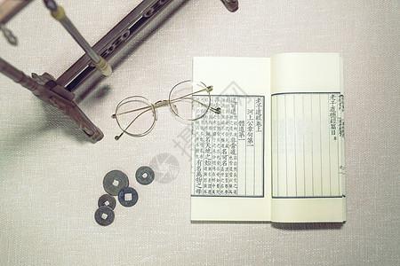 古书古籍线装书笔架图片
