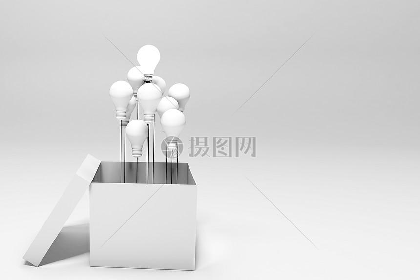 灯泡盒子图片