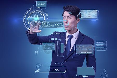 科技数据分析图片