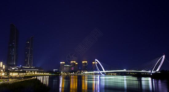 南京眼夜景图片