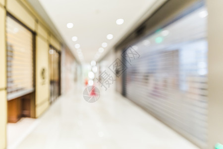城市商场大气虚化场景图片