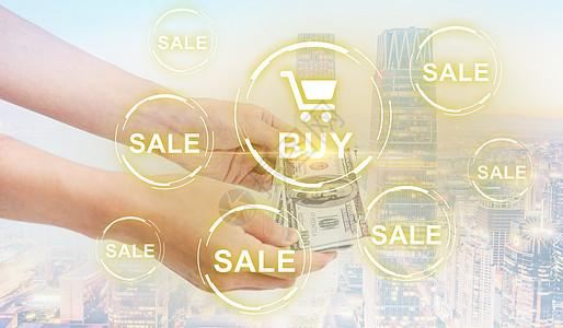 线上购物图片