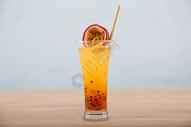 百香果夏日冰品饮料图片