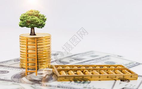 金融 绿色 笔图片