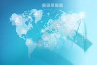 蓝色科技未来背景图片