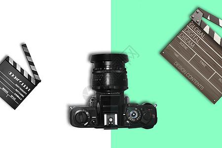 胶卷相机摆拍图片
