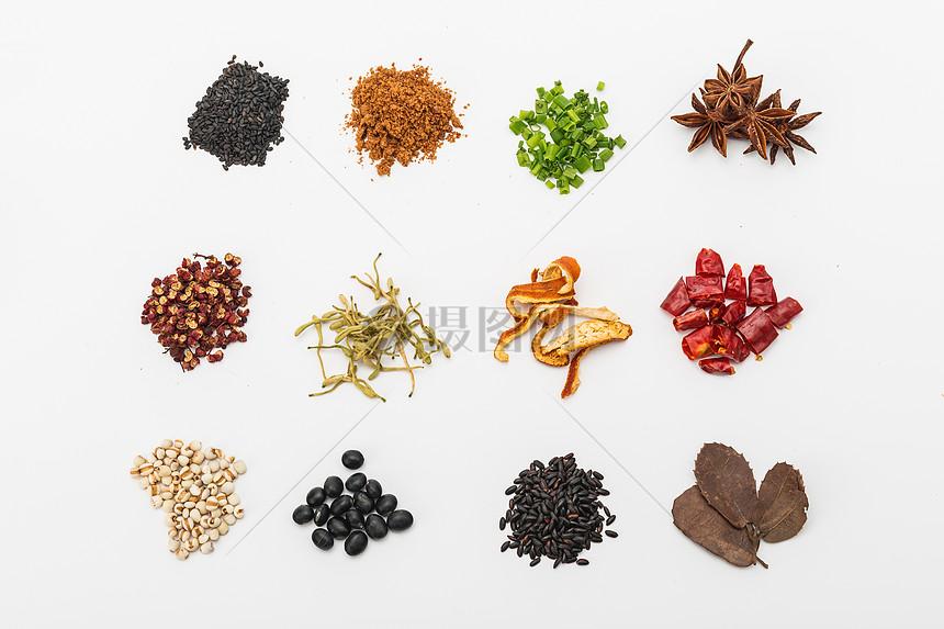 各种各样的香料合集图片