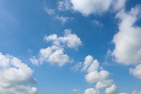蓝天白云素材图片