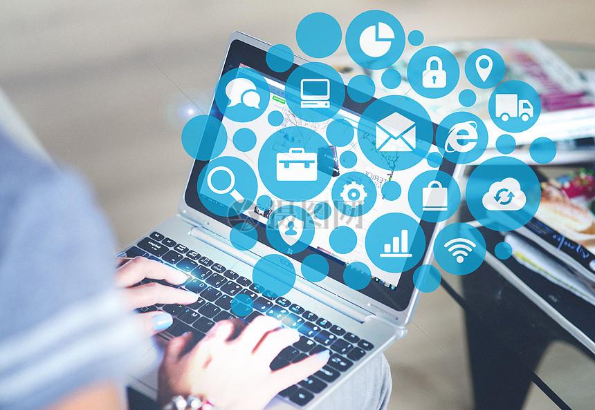 互联网商务科技图片