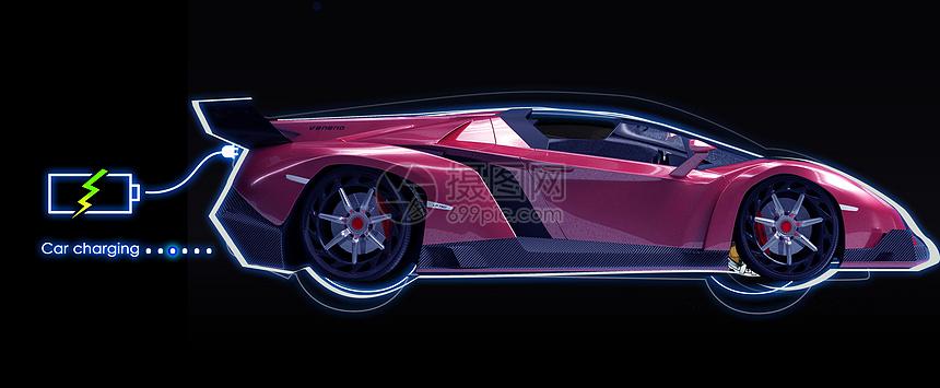新能源汽车充电图片