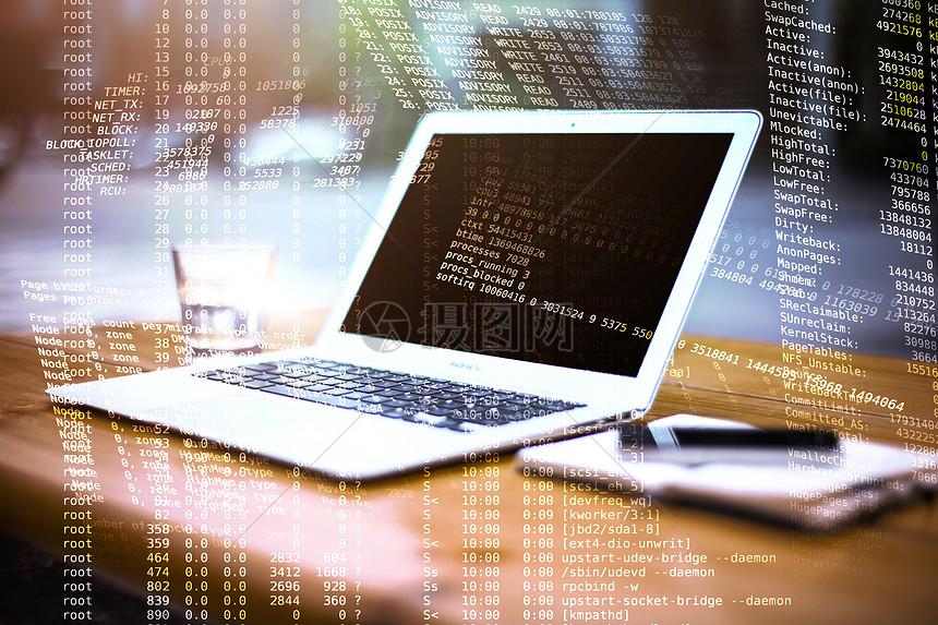 科技感计算机图片