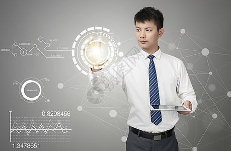 未来科技数据分析图片