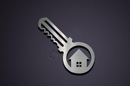 钥匙房子图片