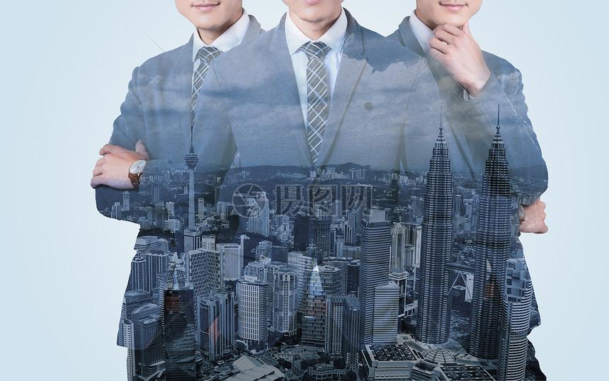 城市商务人图片