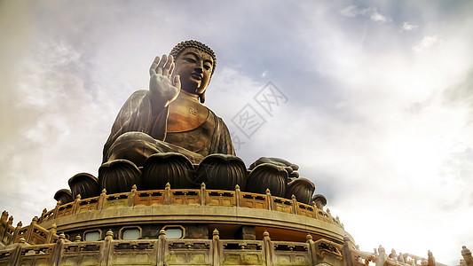 香港大屿山大佛图片