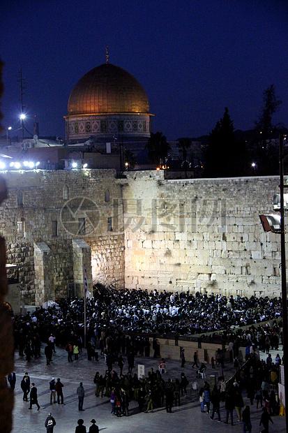 犹太教圣地哭墙图片