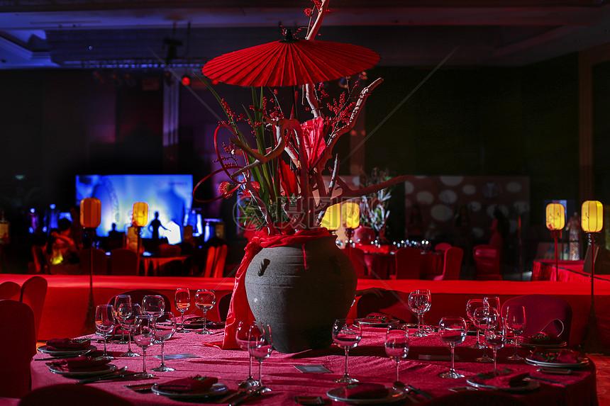 中式酒席图片