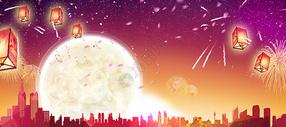 中秋节背景国庆节背景图片