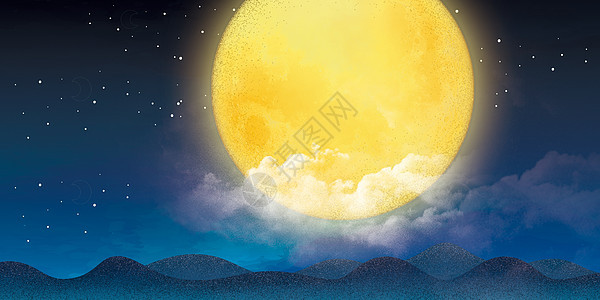 月圆夜图片