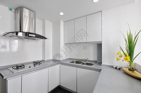 北欧现代简约厨房室内设计图片