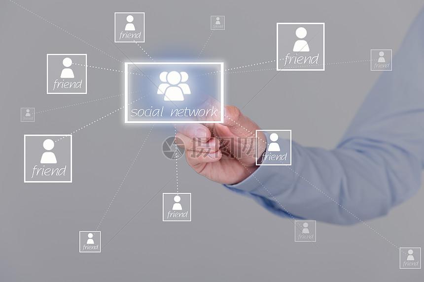 社交网络数据图片