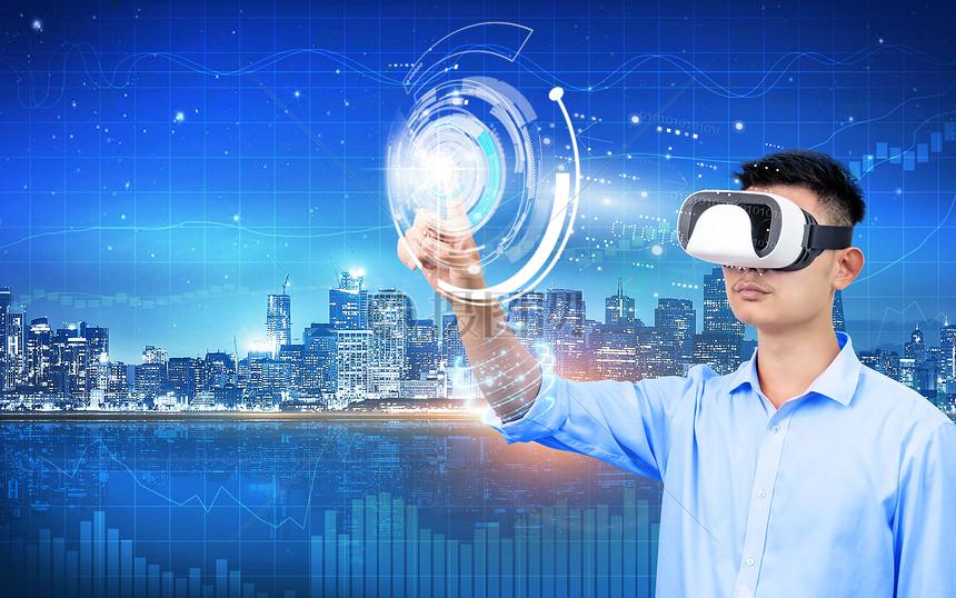 VR看数据图片
