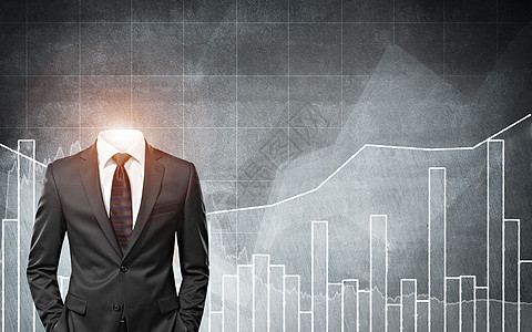 创意商人与业绩图片