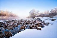 冬天的冰雪风景图片