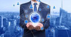 信息全球化图片