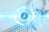音乐动感科技背景图片