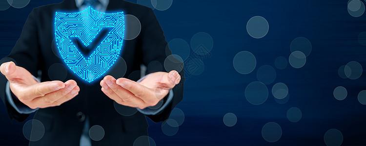 安全科技背景图片